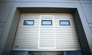 Portes garage nicholas trading - Porte de garage sectionnelle industrielle ...